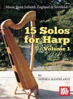 15 Solos for Harp: Vol 1