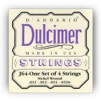D'addario 4 String Dulcimer Set