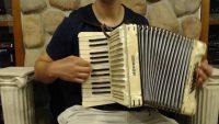 Hohner Student II Piano Accordion 24 Bass-Used