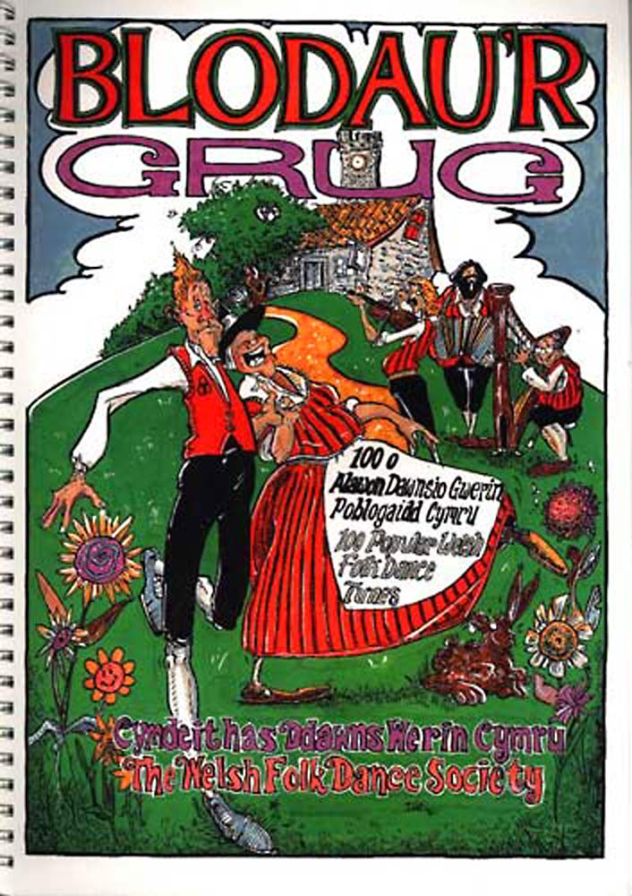 Blodau'r Grug-100 Popular Welsh Folk Dance Tunes