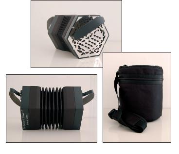 Branwen 30-key Anglo concertina