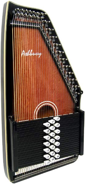 Ashbury 21 Bar Deluxe Autoharp