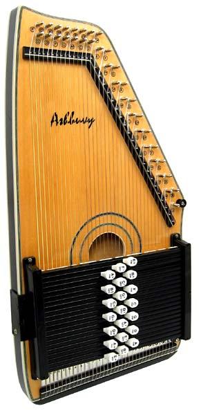 Ashbury-Electro 21 Bar Autoharp