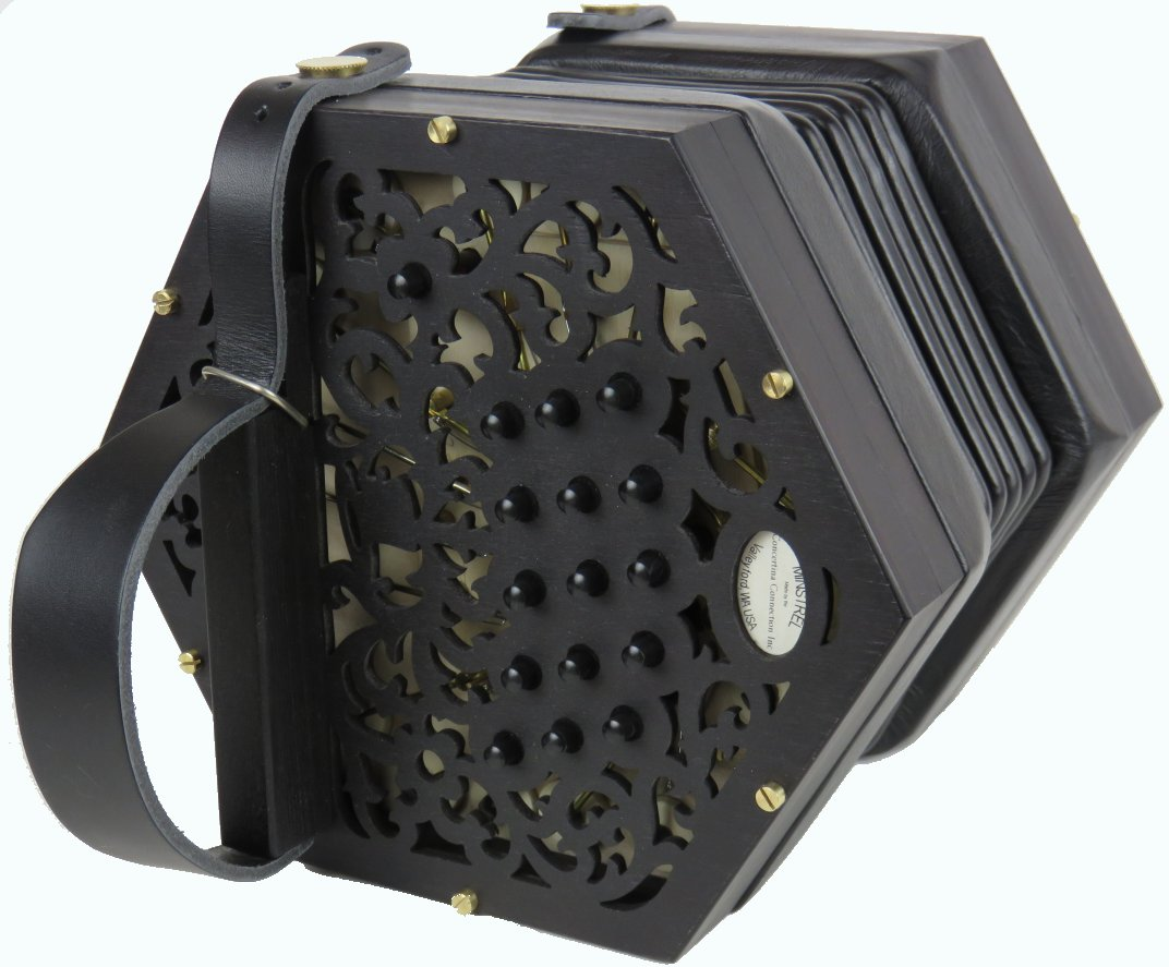 Minstrel Anglo Concertina-By Concertina Connection USA