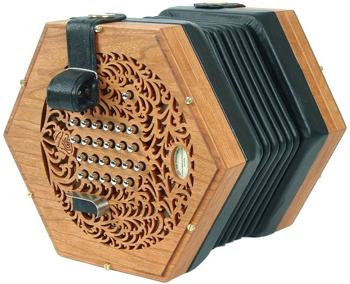Rose English Concertina