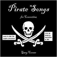 Pirate Songs for Concertina-Gary Coover
