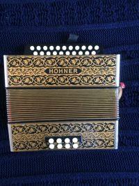 Hohner Pokerwork Melodeon D/G-Used