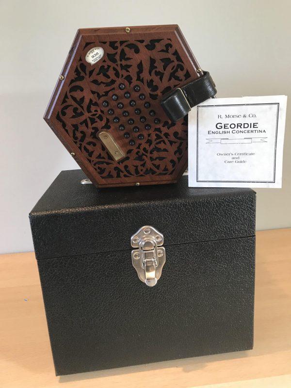 Morse & Co Geordie English Concertina.Tenor