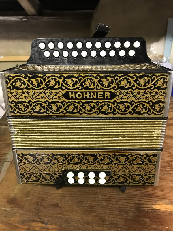 Hohner Pokerwork D/G Melodeon-Used