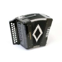 Stephanelli 2 Row Melodeon in B/C