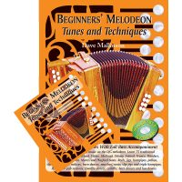Beginners Melodeon Tunes and Technique Book and CD