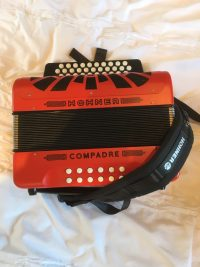Hohner Compadre A-D-G Red