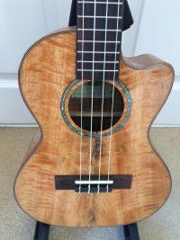Kala KA-MTGE-C Electro-Acoustic Tenor Cutaway Ukulele