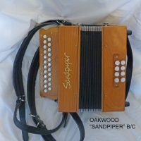 "Oakwood ""Sandpiper"" Melodeon in B/C-Used"