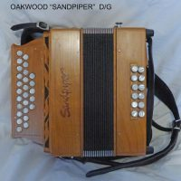 "Oakwood ""Sandpiper"" Melodeon D/G (Used)"