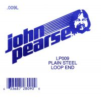 John Pearse Plain loop end string .009