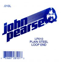 John Pearse Plain loop end string .010