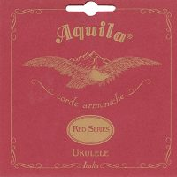 Aquila 88U Red Series string set for tenor ukulele with low G