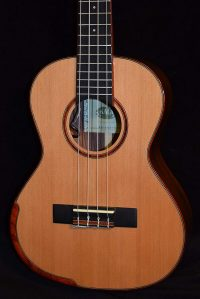 Kala KA-SRT-CTG-CE Electro-Acoustic Tenor Ukulele, Natural Gloss