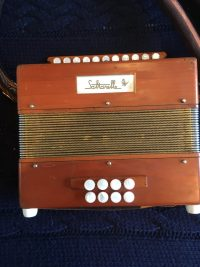 Saltarelle D/G Bouebe Melodeon-Used