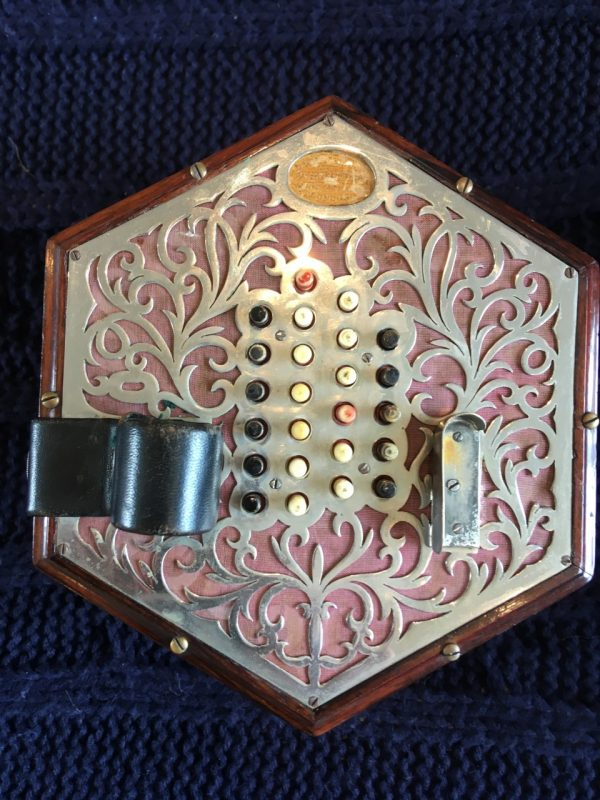 Lachenal 48 Key English Concertina