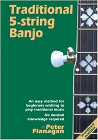 Traditional 5-String Banjo by Peter Flanagan