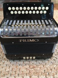 Primo D/G Melodeon- Secondhand