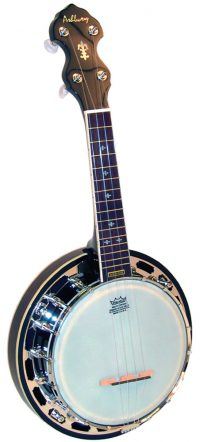 Ashbury Ukulele Banjo-Mahogany