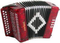 Scarlatti B/C Melodeon-Red