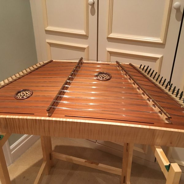 Silver Spear Hammered Dulcimer