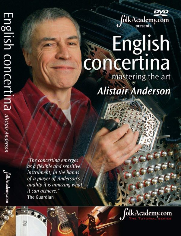 English Concertina Mastering The Art Alistair Anderson [DVD]