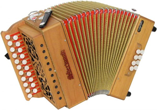 D/G Melodeon Sherwood Cagnoni Reeds