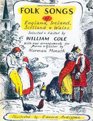 Folk Songs of England,Ireland,Scotland and Wales