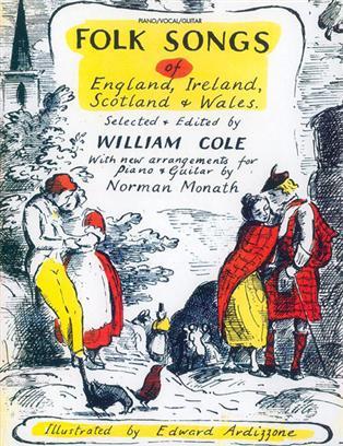 Folk Songs of England,Ireland,Scotland and Wales