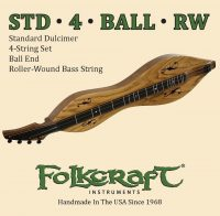 Folkcraft Dulcimer-4 String Set