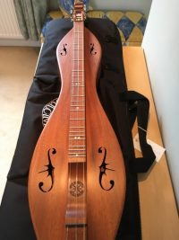 Folkcraft Mountain Dulcimer-Mahogany
