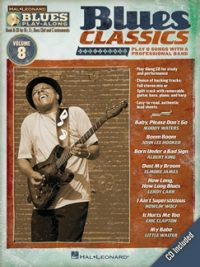 BLUES CLASSICS Blues Play-Along Volume 8