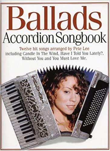 Ballads accordion songbook