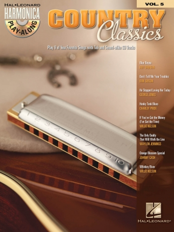 Country Classics Harmonica Play-Along Series