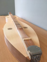 Mountain Dulcimer Knotwork Lacewood