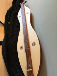 Mountain Dulcimer Knotwork Rosewood