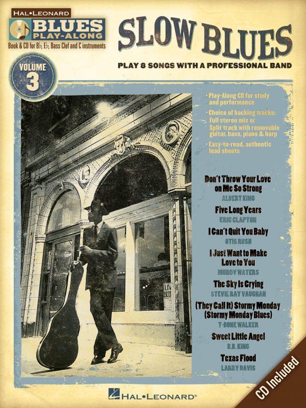 SLOW BLUES Blues Play-Along Volume 3
