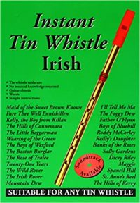 Instant Tin Whistle Irish Book