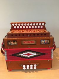 Serenellini D/G Melodeon Used