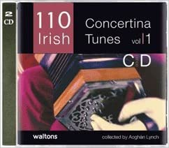 110 Best Irish Concertina Tunes Vol.1 CD