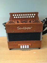 Sandpiper DG Melodeon-Used