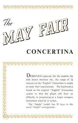 Wheatstone Mayfair English Concertina