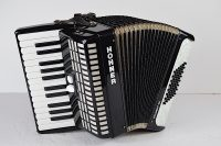 Hohner 48 Bass Accordion-Used