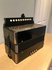 Hohner G Single Row Melodeon