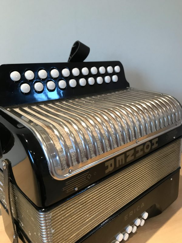 Hohner Erica D-G Melodeon-Used